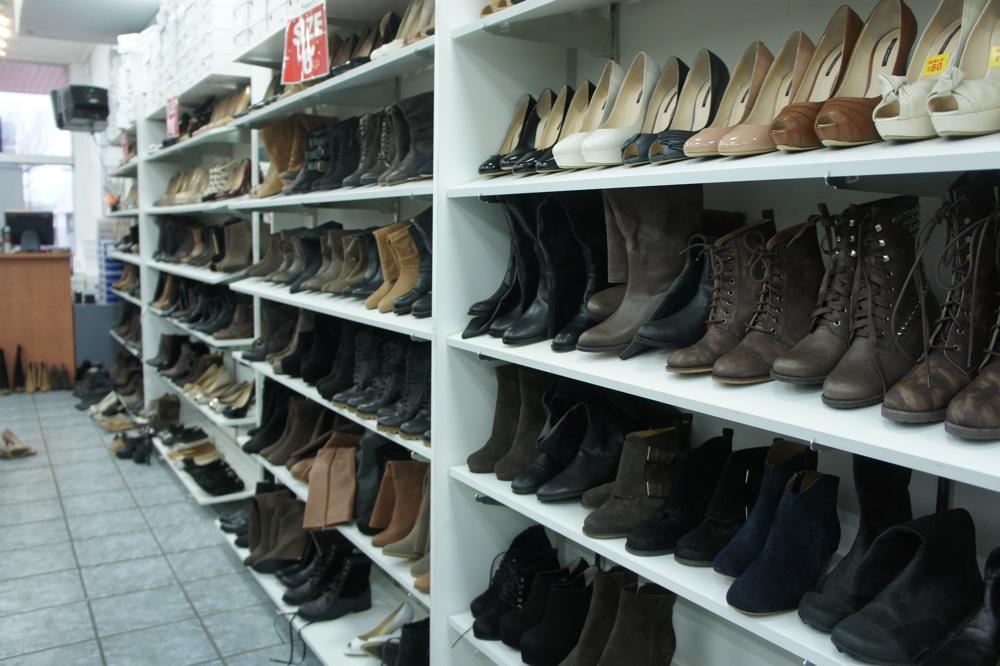 Croydon Main Street Shoe Store