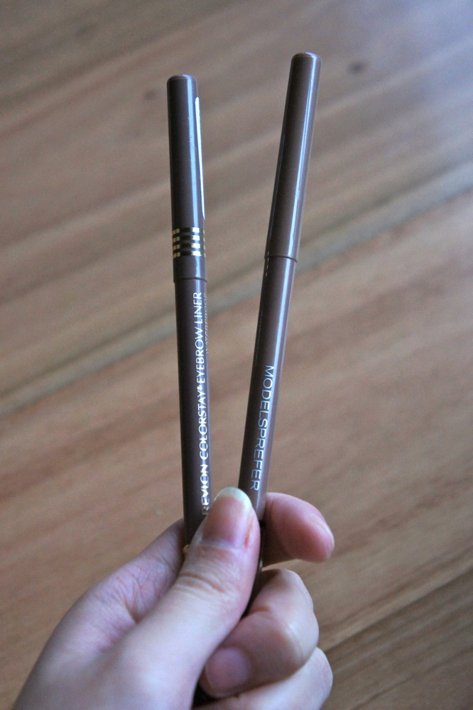 Revlon Colorstay Eyebrow Liner Vs Models Prefer Eyebrow Pencil
