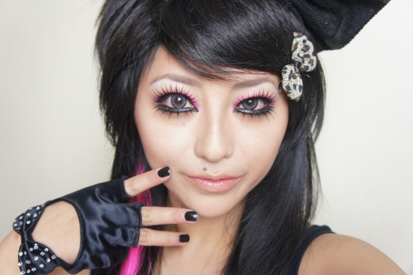 Makeup Tutorial – Emo Scenester Punk Makeup Look ...